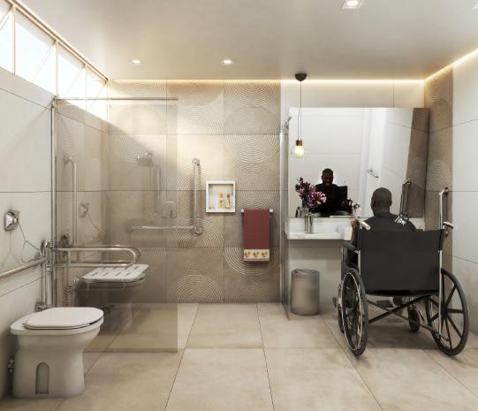 Como adaptar seu banheiro para pessoas com deficiência e pessoas com mobilidade reduzida?